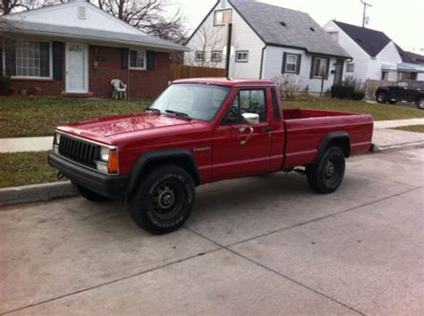 comanche jeep 4 door sell used 1987 jeep comanche standard cab 2 door 4