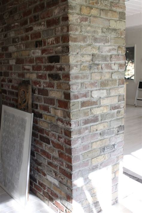Color Wash Walls - the treehouse whitewashed bricks tutorial design mom