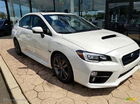 white subaru car 2017 white pearl subaru wrx limited 114864149