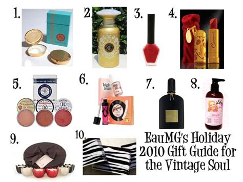 a cosmetic fragrance 2010 holiday gift guide for the