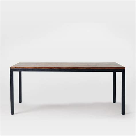 wood metal dining table metal wood dining table elm