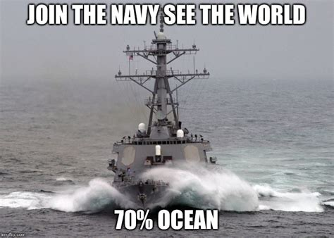destroyer meme arliegh burke class destroyer at sea imgflip