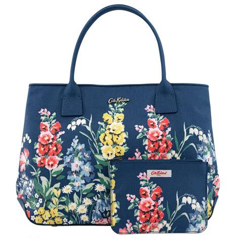 Tote Cath Kidston cath kidston herbaceous border embossed handbag tote 556347