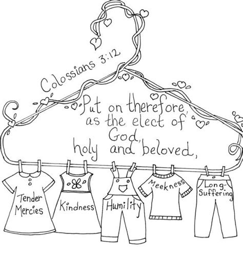 Colossians 3 Coloring Page by 1000 Images About Bible Class Spiritual Concepts On