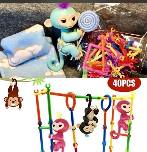 Zoe Lollipop Sets 68 best fingerlings finger monkey clothes accessories