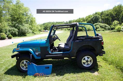 jeep islander yj 1992 jeep wrangler islander edition head turner fun