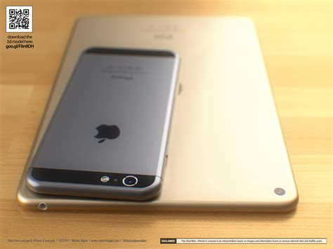 Hp Iphone 6 Mini stunning renders show us of iphone 6 mini 3