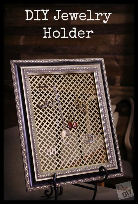 make your own jewelry holder make your own diy jewelry organizer of diy