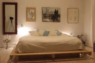15 Beautiful Wood Pallet Bed Frames 27 Ingeniously Beautiful Diy Pallet Bed Designs To
