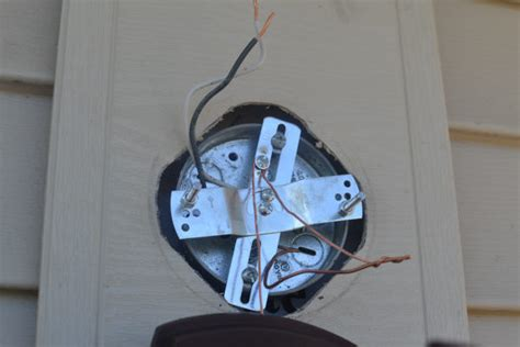 Replacing An Outdoor Light Fixture A Concord Carpenter Replacing Outdoor Light Fixture