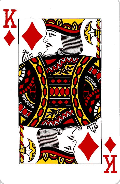 king of hearts card template king of diamonds the card lover