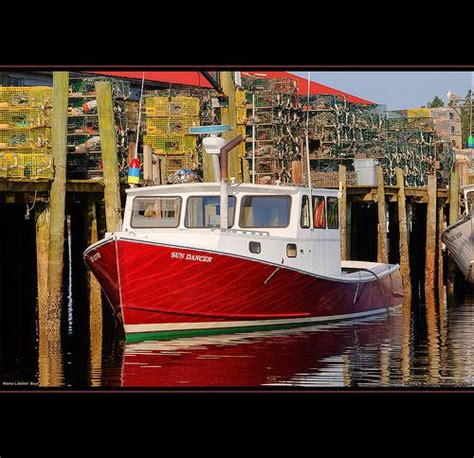 lobster boat acadia maine lobster boat acadia boating wooden boats and