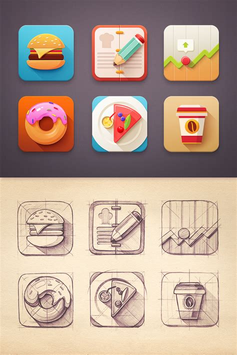 design icon inspiration senixart mind blowing icon designs inspiration icon