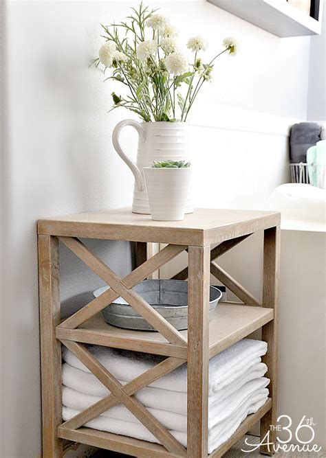 Bathroom Tables by Bathroom Storage Ideas The 36th Avenue