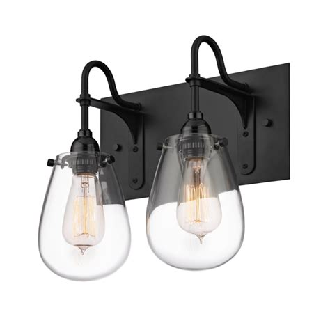 Sonneman 4287 25 Chelsea Retro Satin Black Finish 12 5 Retro Bathroom Lights