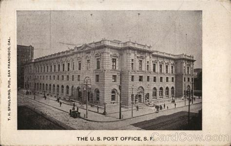 San Francisco Post Office by The U S Post Office San Francisco Ca Postcard