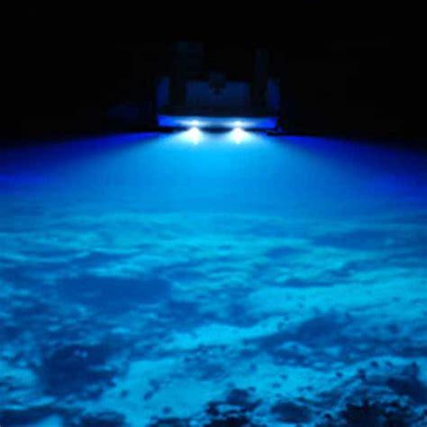 Led Underwater Boat Lights by Bright Waterproof 316 Marine Blue Underwater Light Boat 6x1w Fishing Led Lights Ebay