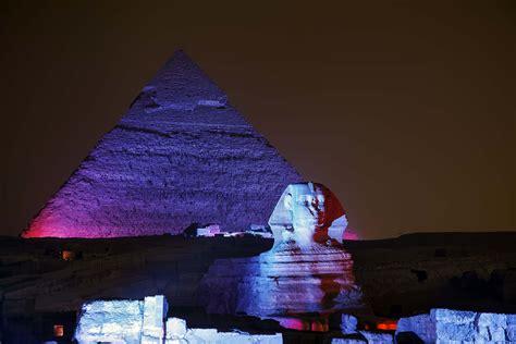 sound and light show giza sound and light show at giza pyramids egypt key tours