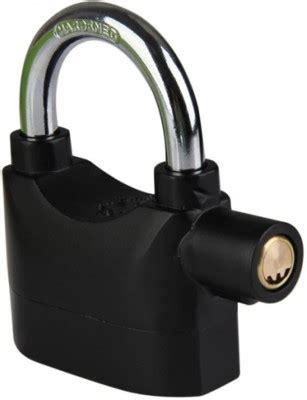 Alarm Lock Kinbar 63 on kinbar alarm safety lock black on flipkart