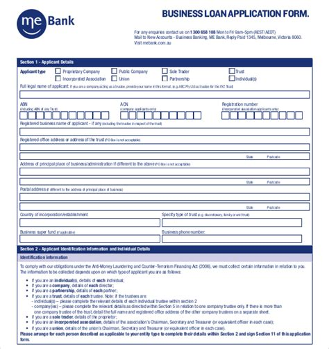 business loan application template 15 application templates free sle exle format