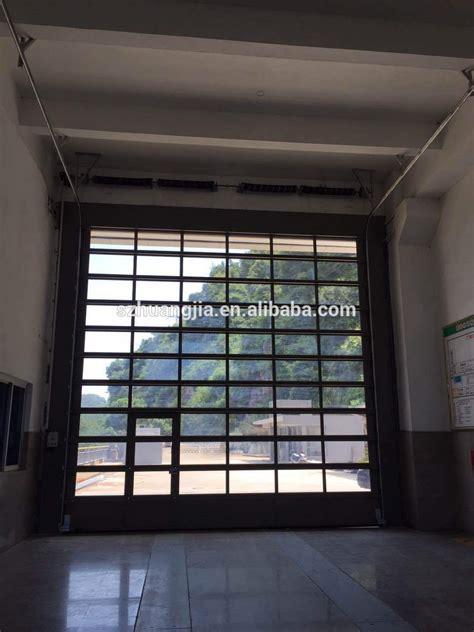 Garage Door Wholesalers Commercial Industrial Large Heavy Duty Wholesale Motorized Aluminium Glass Garage Door View