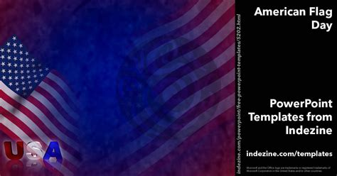american flag powerpoint template american flag day 01 powerpoint templates