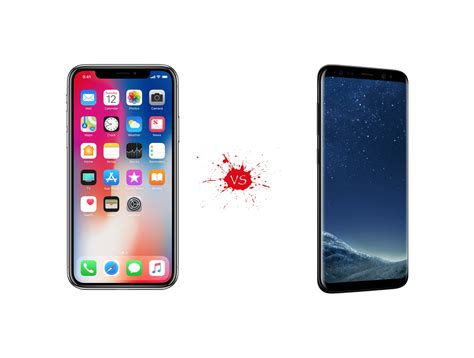 V Samsung Iphone X Vs Samsung Galaxy S8 What S The Difference Your Mobile