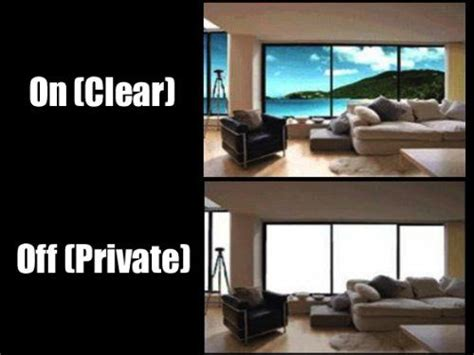 electronic curtains invisishade switchable electronic privacy film smart
