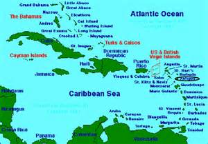 Caribbeans Map by May 2012
