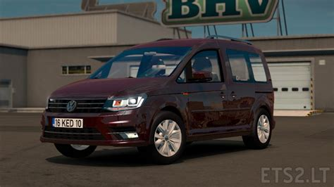volkswagen caddy truck volkswagen caddy ets 2 mods