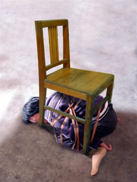 Chair Bound by Ccp Methods Tying Up Victims In Excruciating
