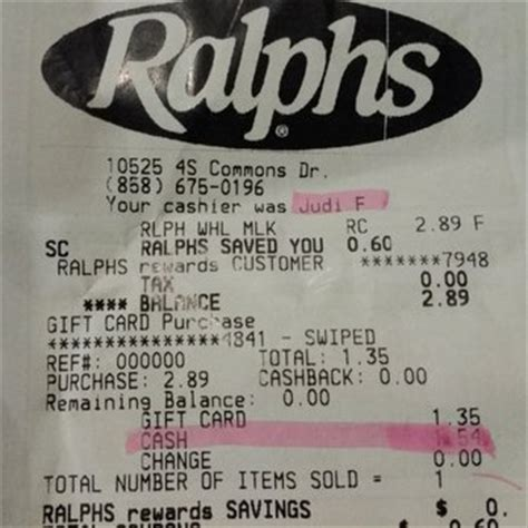 Gift Cards At Ralphs - ralphs 76 photos 80 reviews 10525 4s commons dr supermarkets san diego ca