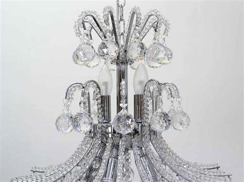 kristallleuchter ebay kristallleuchter kronleuchter h 228 ngele 7 flammig chrom