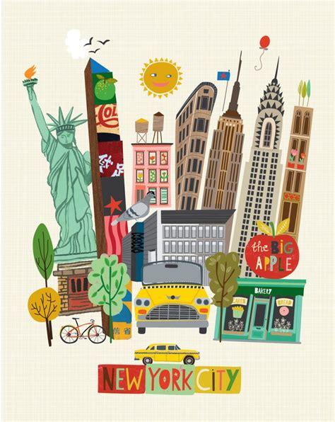 art design kalender new york 25 best new york illustration ideas on pinterest empire