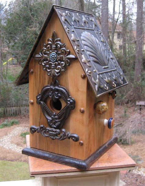unique bird houses unique bird houses clam shell tin roof 171 unique birdhouses and birdfeeders bird