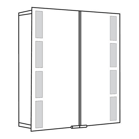 spiegelschrank xpress spiegelschrank alu 1122075 asp 500 75 x 75 cm hsk