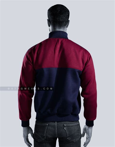 Reversible Track Jacket custom fleece reversible track jackets sporty comforting
