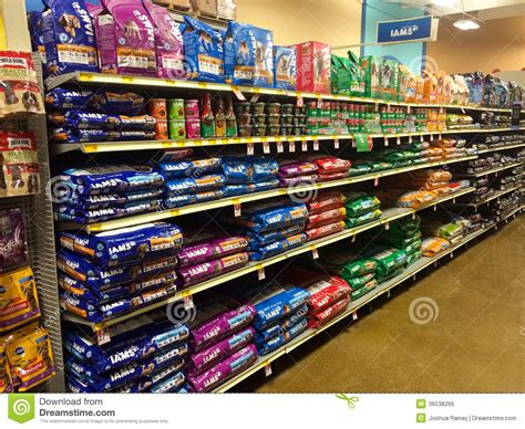 pet food at petsmart eugene or editorial image image