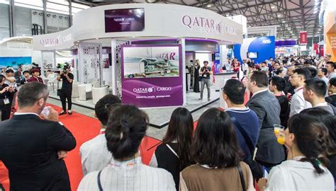 qatar airways cargo launches  video  air cargo china
