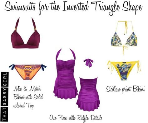 inverted triangle bog stomach hitting the beach find the perfect swimsuit paperblog