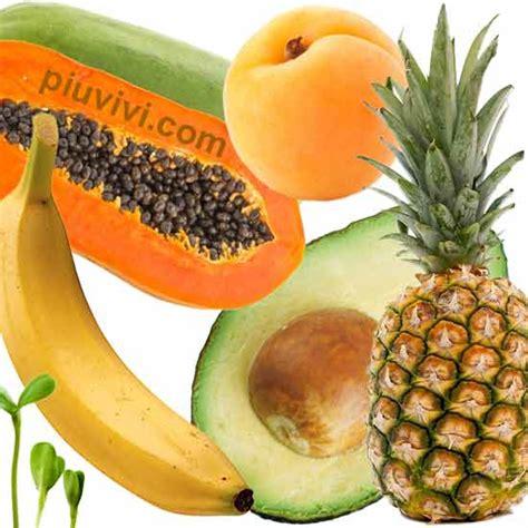 alimenti ricchi di enzimi nutrizione