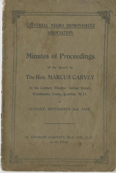 Garvey Essay by Research Paper On Garvey