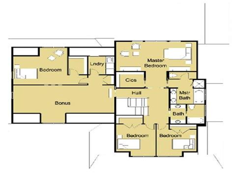 modern floor plans modern house plans modern house design floor plans