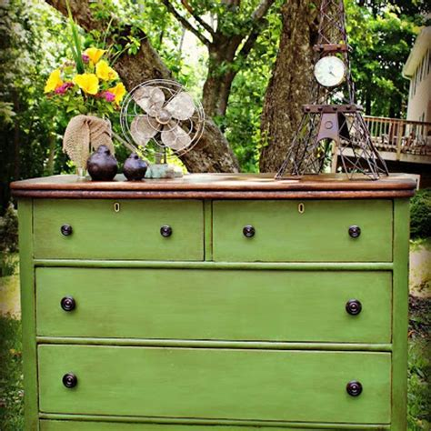 Craigslist White Dresser by White And Neglected Craigslist Dresser Turned Green