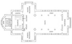 floor plan of a church the middle ages romanesque and ms