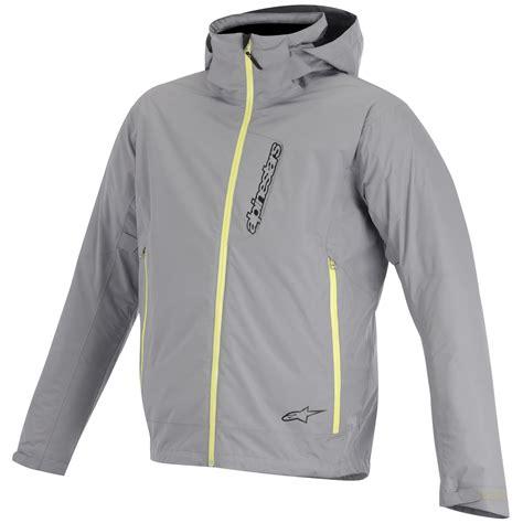 hooded motorcycle jacket alpinestars scion 2l hooded waterproof textile motorcycle