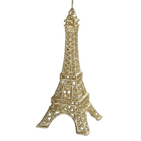 cut crystal eiffel tower xmas ornament sparkling eiffel tower decoration ciupa biksemad