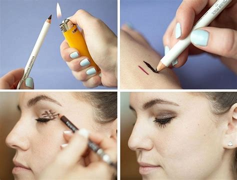 pencil eyeliner tutorial dailymotion beautiful makeup with just one pencil tutorial alldaychic