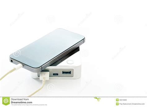 Phone Lookup One Time Charge Wireless Charging Of Smartphone Royalty Free Stock Photography Cartoondealer