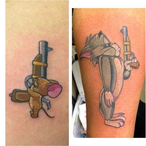 disney couple tattoos best 25 tom and jerry hd ideas that you will like on